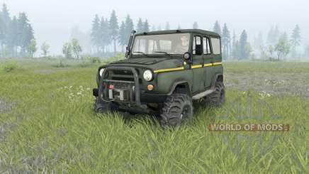 UAZ-31514 _ für Spin Tires
