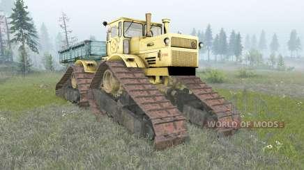 Kirovets K-700A crawler für Spin Tires
