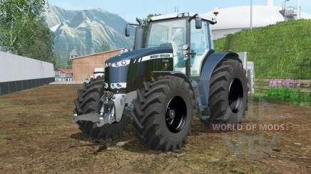 Massey Ferguson 7726 black pour Farming Simulator 2015