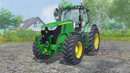 John Deere 7200R north texas green für Farming Simulator 2013