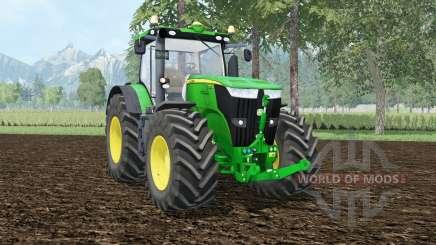 John Deere 7310R Rad shadeᶉ für Farming Simulator 2015
