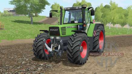 Fendt Favorit 515C Turbomatiƙ für Farming Simulator 2017