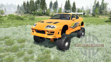 Toyota Supra Fast & Furious (JZA80) 2001 4x4 pour MudRunner