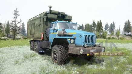 Ural-4320 soft-couleur bleu pour MudRunner