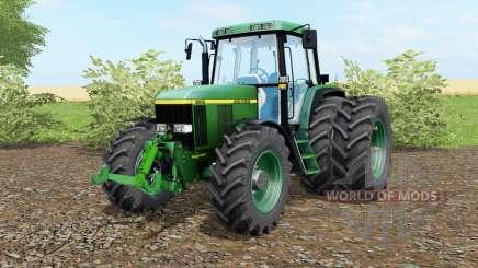 John Deere 6810 le nord du texas greeᶇ pour Farming Simulator 2017