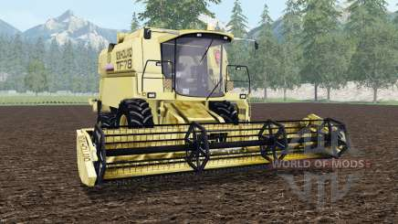 New Holland TF78 arylide yellow pour Farming Simulator 2015