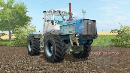 T-150K un modérément de couleur bleu pour Farming Simulator 2017