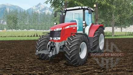 Massey Ferguson 6616 Dyna-VT pour Farming Simulator 2015