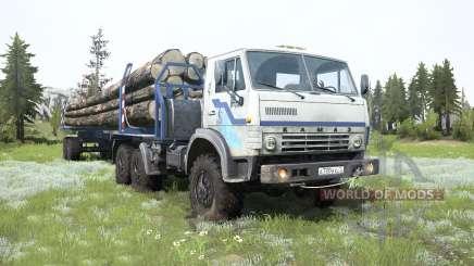 KamAZ-4310-LKW für MudRunner