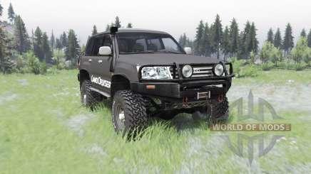 Toyota Land Cruiser 100 GX für Spin Tires