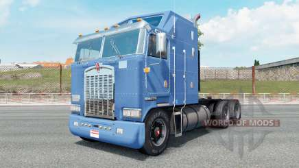 Kenworth K100 carolina blue pour Euro Truck Simulator 2