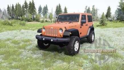 Jeep Wrangler Rubicon (JK) 2007 pour MudRunner