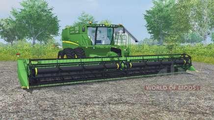 John Deere S680 dual front wheels pour Farming Simulator 2013