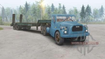 Tatra T148 6x6-v1.1 blau Farbe für Spin Tires