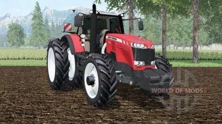 Massey Ferguson 8737 row crops für Farming Simulator 2015