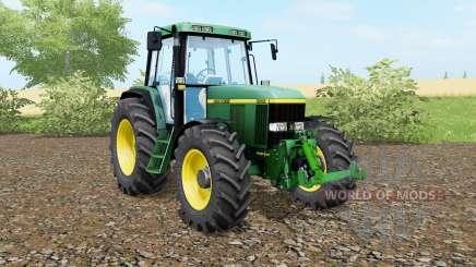 John Deere 6810 animated steering für Farming Simulator 2017