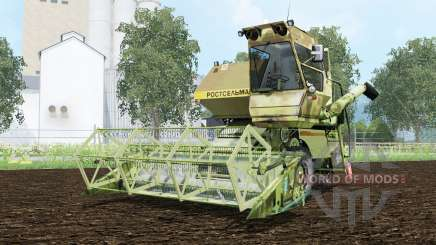 SK-5 Нивᶏ pour Farming Simulator 2015