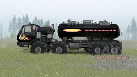 KrAZ-7E-6316 Sibérie pour Spin Tires