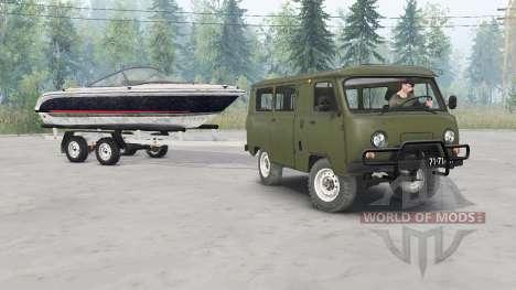 UAZ-452 für Spin Tires