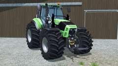 Deutz-Fahr 7250 TTV Agrotron wheel options für Farming Simulator 2013