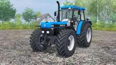 New Holland 8340 deep sky blue pour Farming Simulator 2013