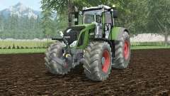 Fendt 828 Vario hippie green pour Farming Simulator 2015