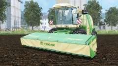 Krone BiG X 1100 pantone greeꞑ für Farming Simulator 2015