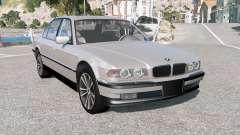 BMW 750iL (E38) 1999 pour BeamNG Drive
