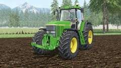 John Deere 7810 dynamic exhausting system für Farming Simulator 2015