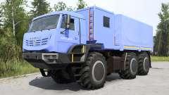 KamAZ-6345 de l'Arctique, doux, bleu pour MudRunner