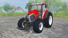 Lindner Geotrac 94 candy apple red pour Farming Simulator 2013