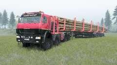 KamAZ-65228 für Spin Tires
