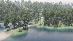 La vallée du lac pour Spin Tires