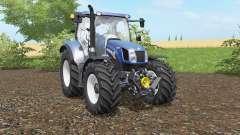 New Holland T6.140&T6.160 Blue Power pour Farming Simulator 2017