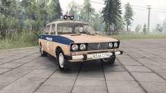 VAZ-Lada 2106 Police de l'Union Soviétique pour Spin Tires