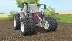 Fendt 716-724 Vario added dual wheels pour Farming Simulator 2017