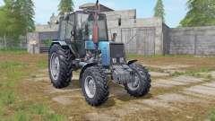 MTZ-Belarus 1025 blau für Farming Simulator 2017