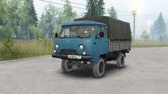 UAZ-452Д dunkel blau für Spin Tires