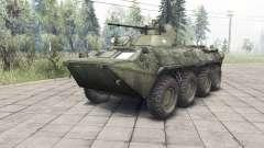 Der BTR-82A v1.3 für Spin Tires