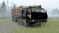 KrAZ-7E-6316 Sibirien für Spin Tires