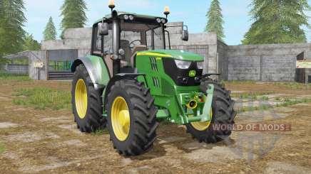 John Deere 6115M north texas green pour Farming Simulator 2017