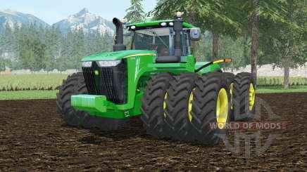 John Deere 9620R tripleᶊ pour Farming Simulator 2015