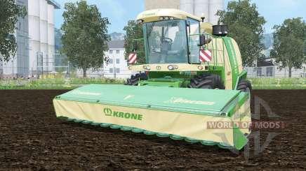 Krone BiG X 1100 pantone greeꞑ pour Farming Simulator 2015