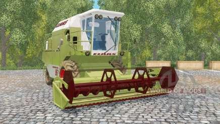 Claas Dominator 86 olive greeꞑ pour Farming Simulator 2015