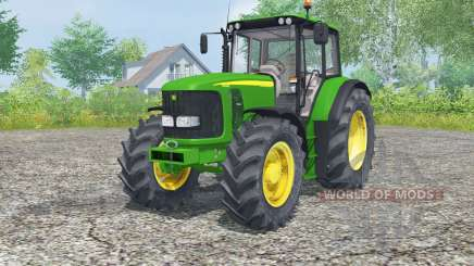 John Deere 6620 islamic green pour Farming Simulator 2013