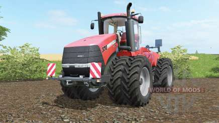 Case IH Steiger 370 twin wheelȿ für Farming Simulator 2017