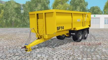 Richard Weston SF14 munsell yellow für Farming Simulator 2015