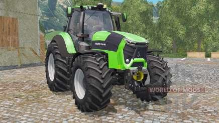 Deutz-Fahr 9340 TTV Agrotron green für Farming Simulator 2015