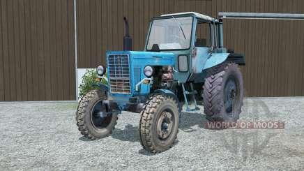 MTZ-80 Belarus blau für Farming Simulator 2013