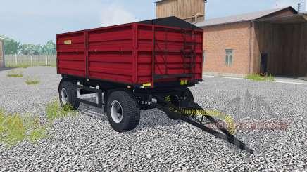 Zaslaw D-737AA-14 ruby red für Farming Simulator 2013